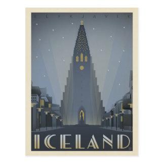 Reykjavik, Iceland Postcard