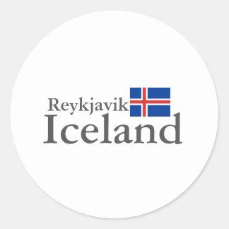 Reykjavik, Iceland Sticker