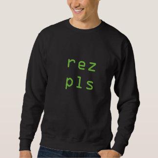 rez pls sweatshirt