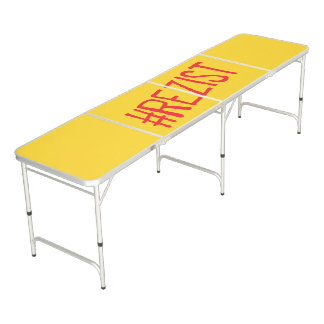 rezist romania political slogan resist protest sym beer pong table
