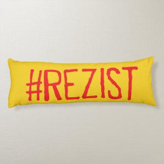 rezist romania political slogan resist protest sym body pillow