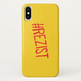 rezist romania political slogan resist protest sym Case-Mate iPhone case