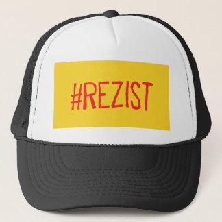 rezist romania political slogan resist protest sym trucker hat