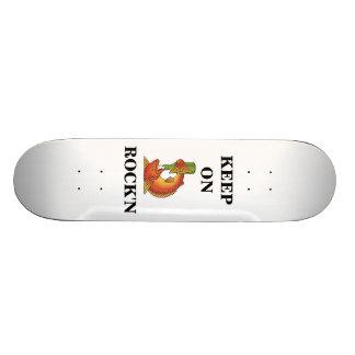 rf, KEEP ON, ROCK'N Skateboard Deck