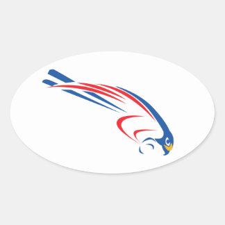 Rfalconcam Oval Sticker
