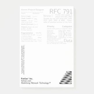 RFC 791 Post-Its Post-it Notes