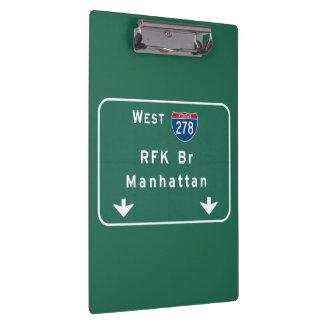 RFK Bridge I-278 Interstate NYC New York City NY Clipboards