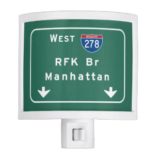 RFK Bridge I-278 Interstate NYC New York City NY Nite Light