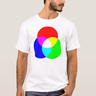 RGB & CYM Two Sided Tee