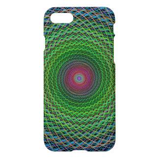 RGB fractal iPhone 7 Case