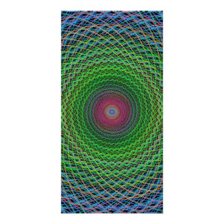 RGB fractal Picture Card