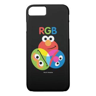 RGB Sesame Street iPhone 7 Case