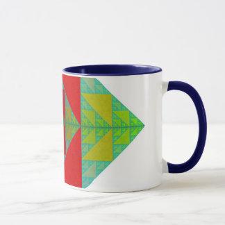 RGB Sierpinski Square Mug