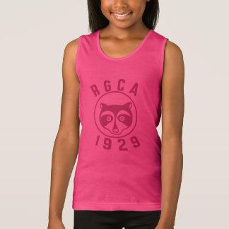 RGCA Girl's Red Logo Tank Top