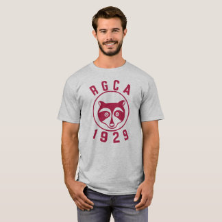 RGCA Men's Basic T-shirt Red Logo