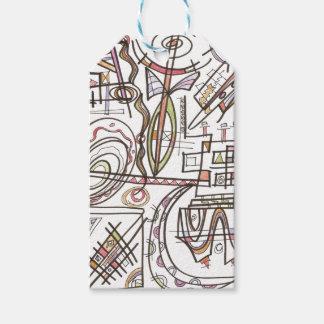 Rhapsody-Abstract Art Geometric Gift Tags