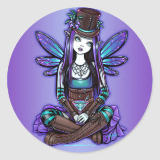 """Rhapsody"" Gothic Absinthe Fairy Art Stickers"