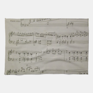 Rhapsody in Blue Kitchen Towel