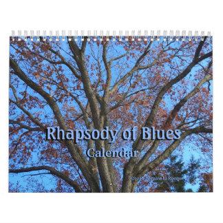 Rhapsody of Blues - Calendar