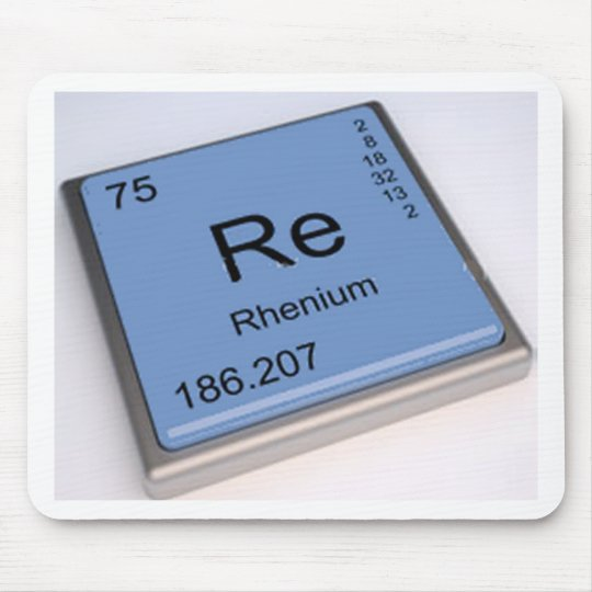rhenium mouse pad