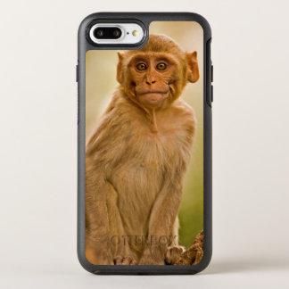 Rhesus Macaque Baby (Macaca Mulatta) In Sariska OtterBox Symmetry iPhone 7 Plus Case