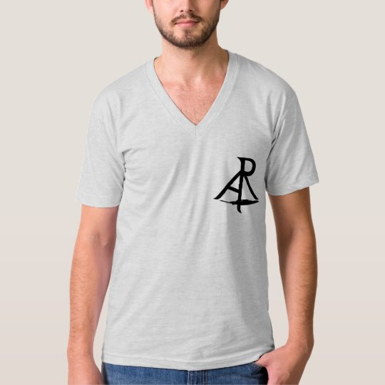 Rhetoric Askew Logo Jersey V-Neck Men's Shirt