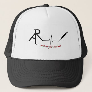 Rhetoric Askew Write to Your own beat logo trucker Trucker Hat