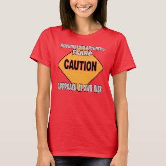 Rheumatoid Arthritis Flare Caution T-Shirt