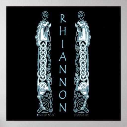 Rhiannon Celtic Art Prints