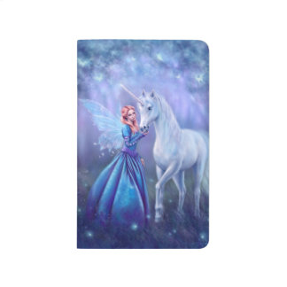 Rhiannon - Unicorn and Butterfly Fairy Journal