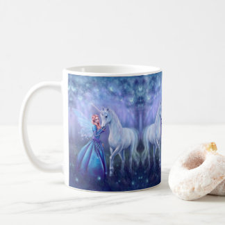Rhiannon - Unicorn and Fairy Ceramic Mug