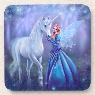 Rhiannon - Unicorn and Fairy Coasters - Set of 6