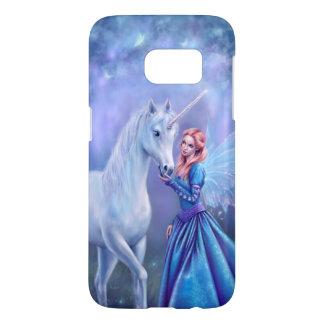 Rhiannon Unicorn and Fairy Samsung Galaxy S7 Case