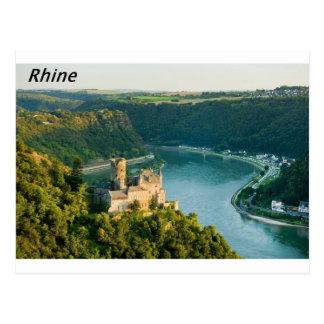 Rhine Germany  Angie. Postcard