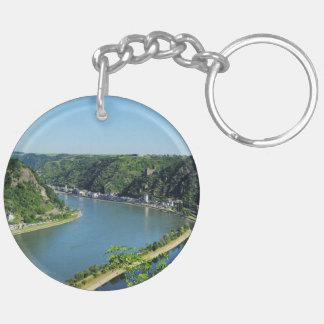 Rhine Valley to the Loreley Keychain