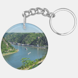 Rhine Valley to the Loreley Keychain