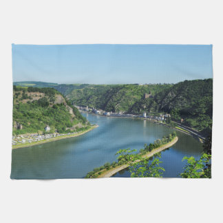 Rhine Valley to the Loreley Kitchen Towel