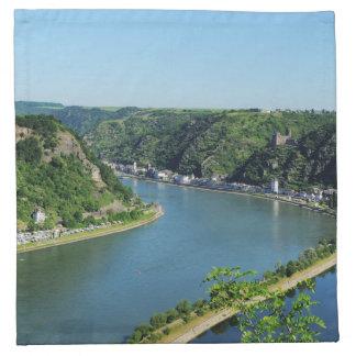 Rhine Valley to the Loreley Napkin