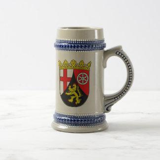 Rhineland-Palatinate coat of arms Beer Stein