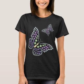 Rhinestone Butterflys Diamond Women's Top