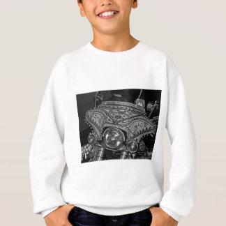 Rhinestone Harley in bw Sweatshirt