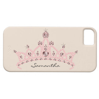 Rhinestone Tiara iPhone 5 Case-Mate Case (ivory)