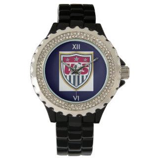 Rhinestone USA Soccer Watch