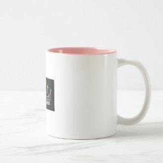 rhinestonejewelry Two-Tone coffee mug