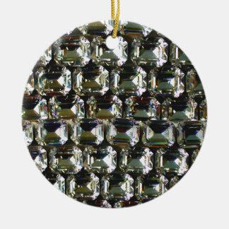 Rhinestones Ceramic Ornament