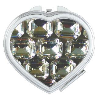 Rhinestones Compact Mirror