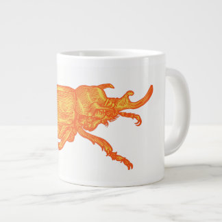 Rhino Beetle Coffee Large Coffee Mug