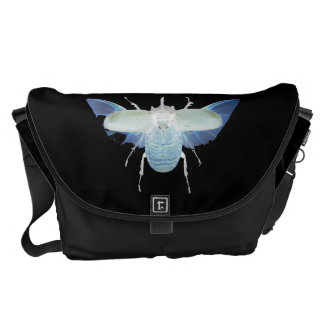 Rhino Beetle Large Messenger Bag