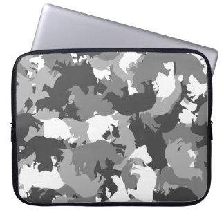 Rhino camouflage laptop sleeve
