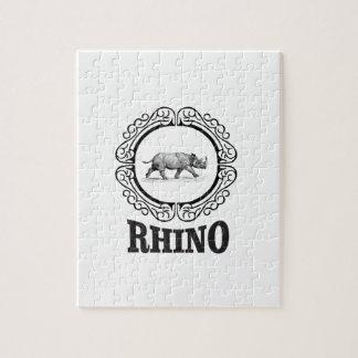 rhino club jigsaw puzzle